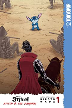 Disney Manga: Stitch and the Samurai Tome 1