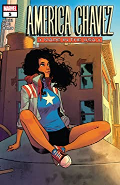 America Chavez: Made In The USA (2021) #5 (of 5)