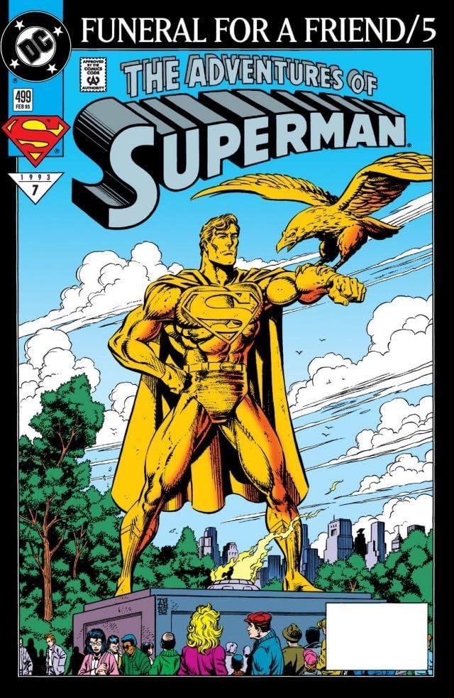 Adventures of Superman (1986-2006) #499