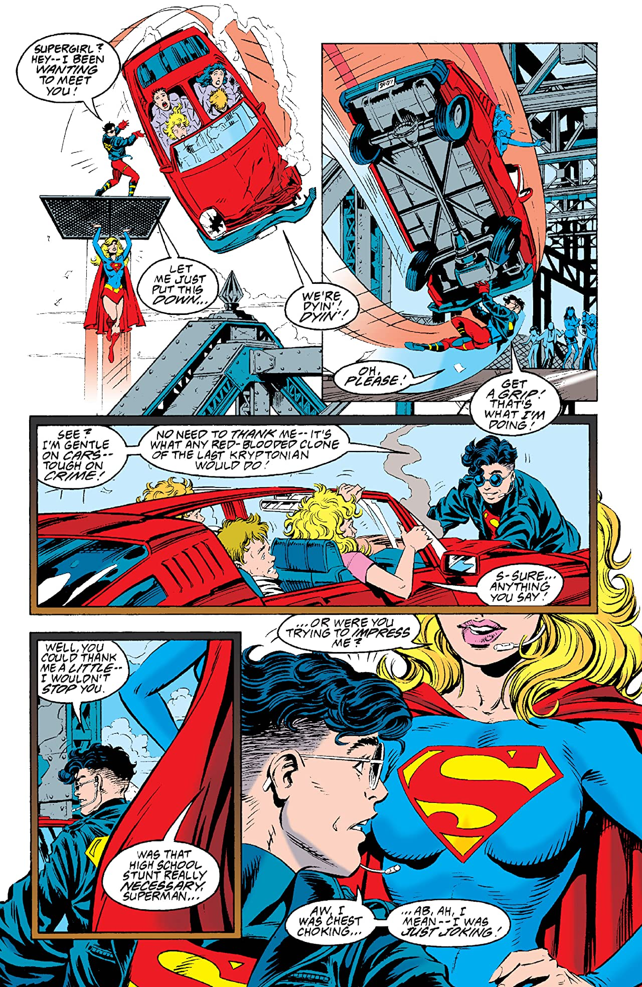 Adventures of Superman (1986-2006) #502