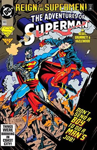 Adventures of Superman (1986-2006) #503