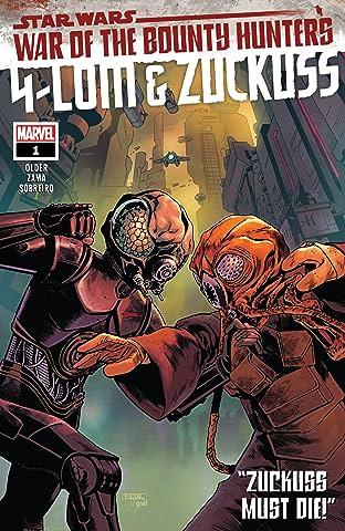 Star Wars: War Of The Bounty Hunters - 4-Lom & Zuckuss No.1 (sur 1)
