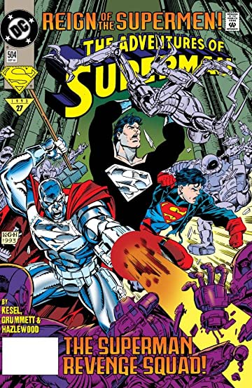 Adventures of Superman (1986-2006) #504