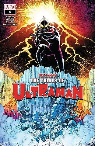 The Trials Of Ultraman No.5 (sur 5)