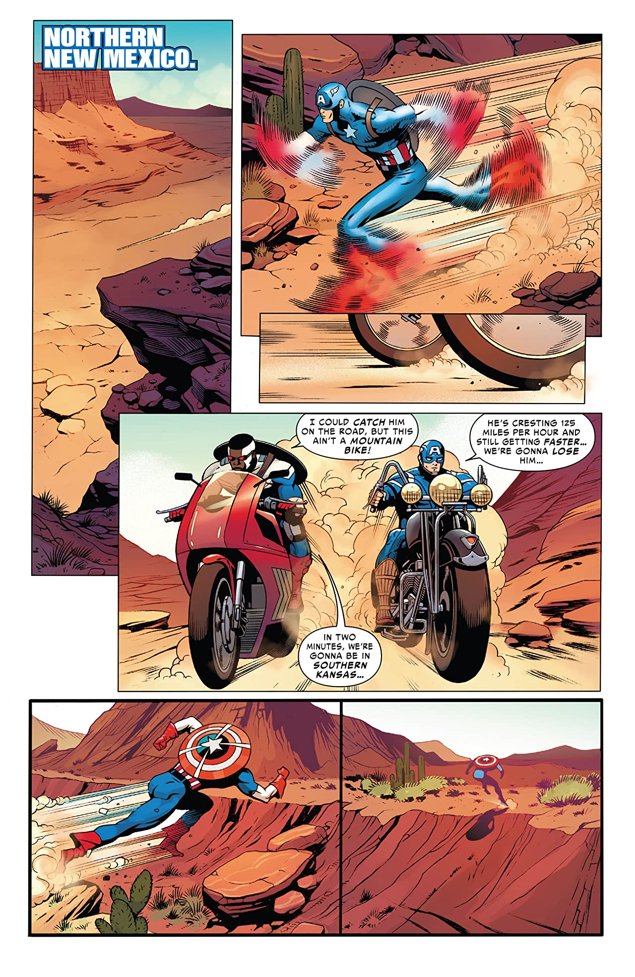 The United States Of Captain America (2021) #3 (of 5)