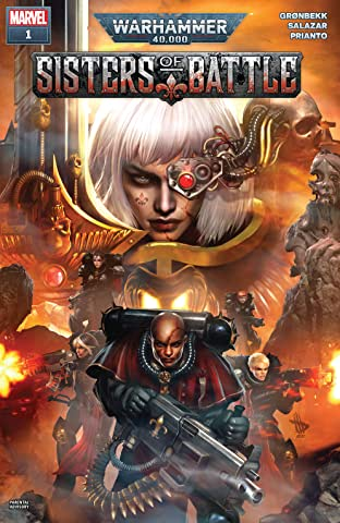 Warhammer 40,000: Sisters Of Battle (2021) No.1 (sur 5)