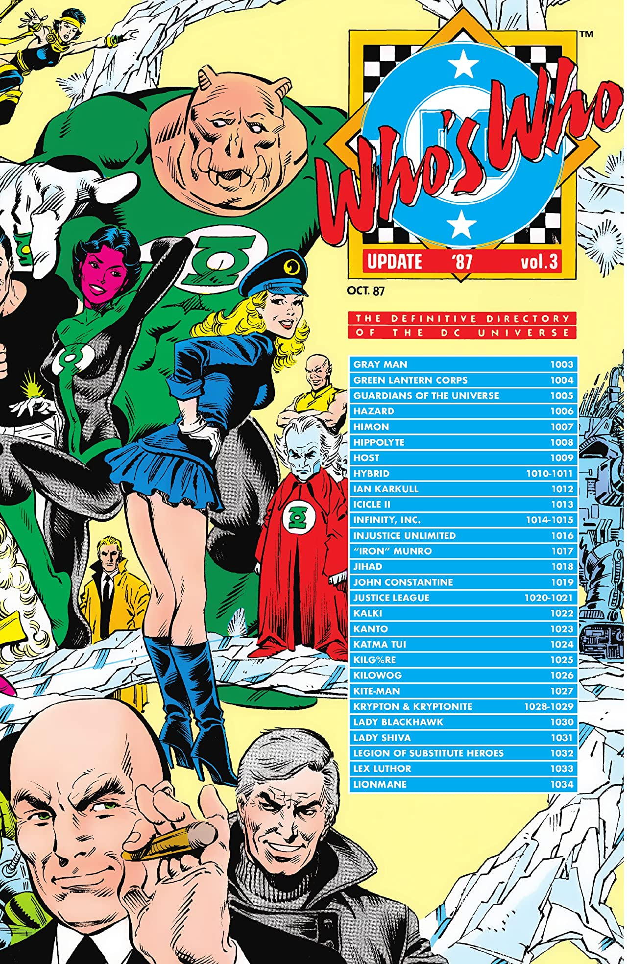 Who's Who Update 1987 (1987) #3