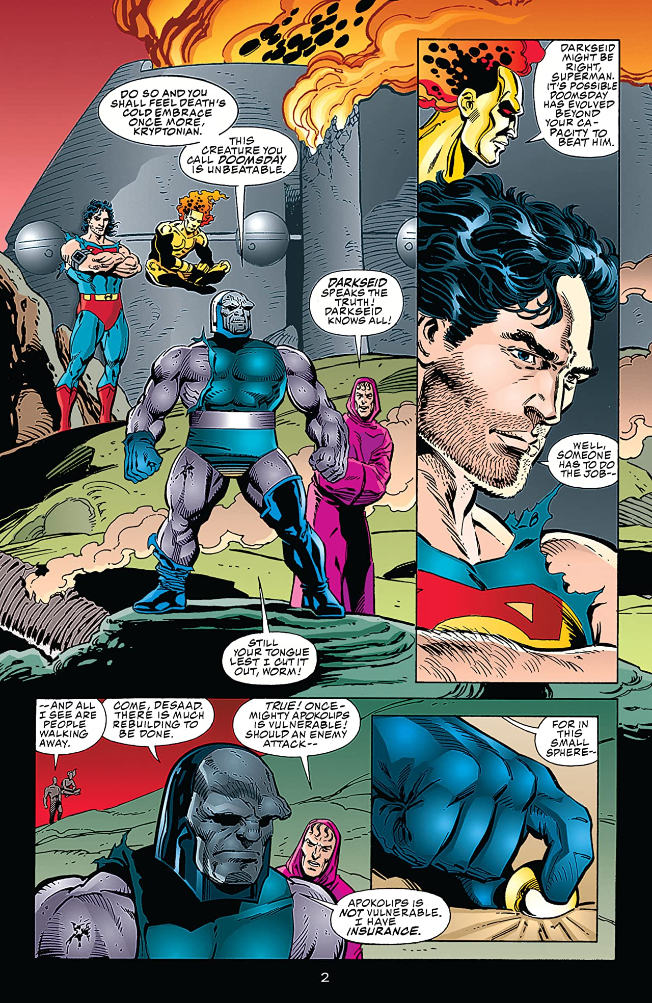 Superman/Doomsday: Hunter/Prey #3
