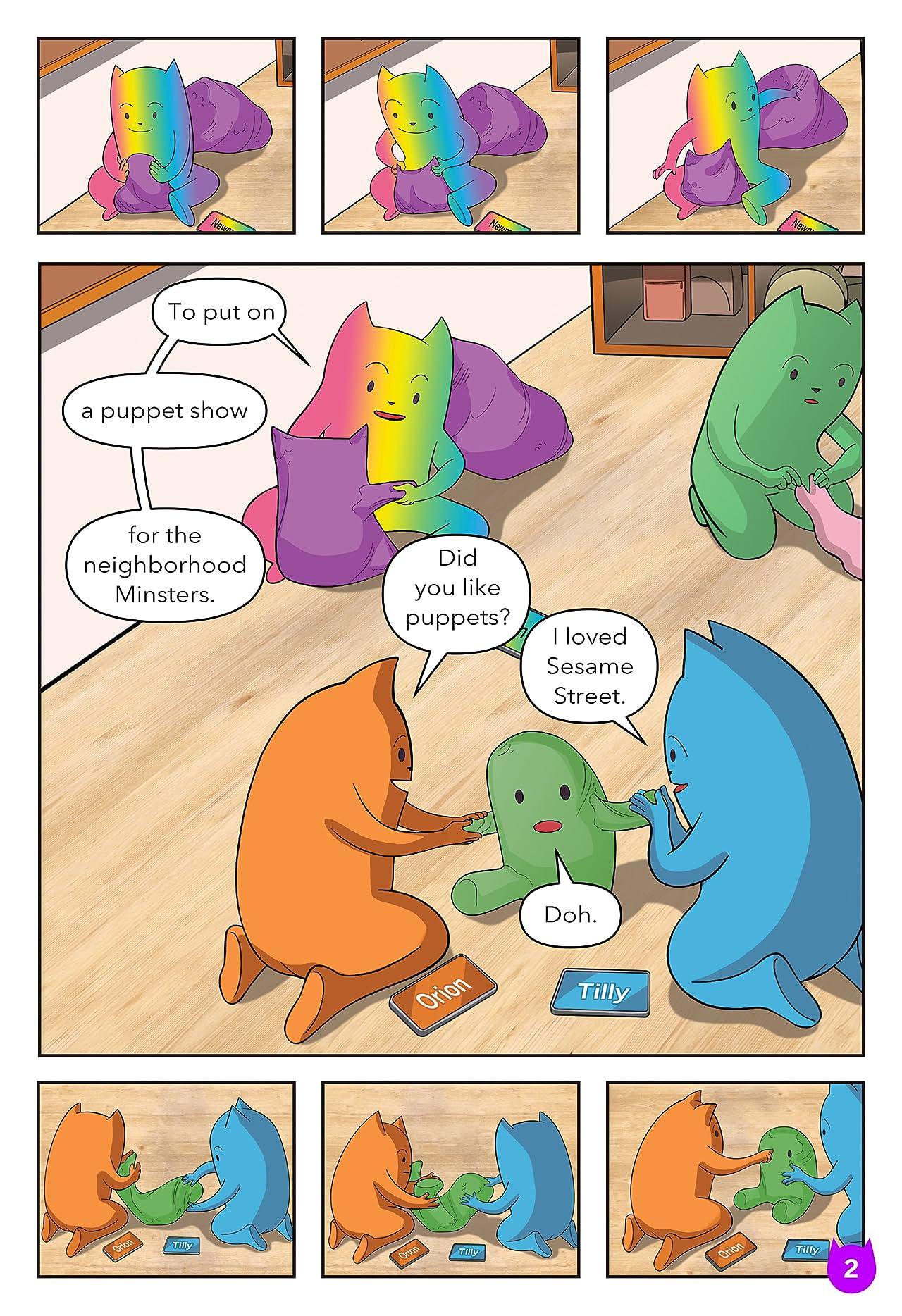 Monster Me #1: All Phone & Games (Teacher's Edition)