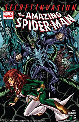 Secret Invasion: The Amazing Spider-Man #1 (of 3)