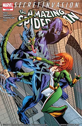 Secret Invasion: The Amazing Spider-Man #2 (of 3)