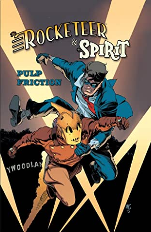 Rocketeer/The Spirit: Pulp Friction!