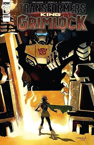 Transformers: King Grimlock No.1