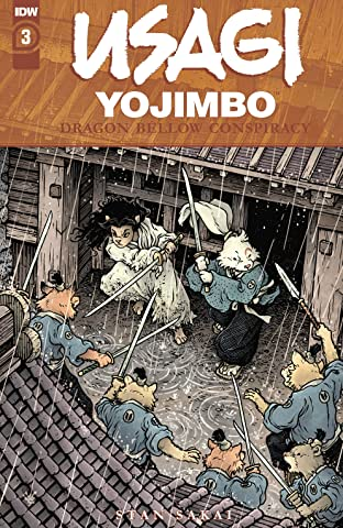 Usagi Yojimbo: The Dragon Bellow Conspiracy #3