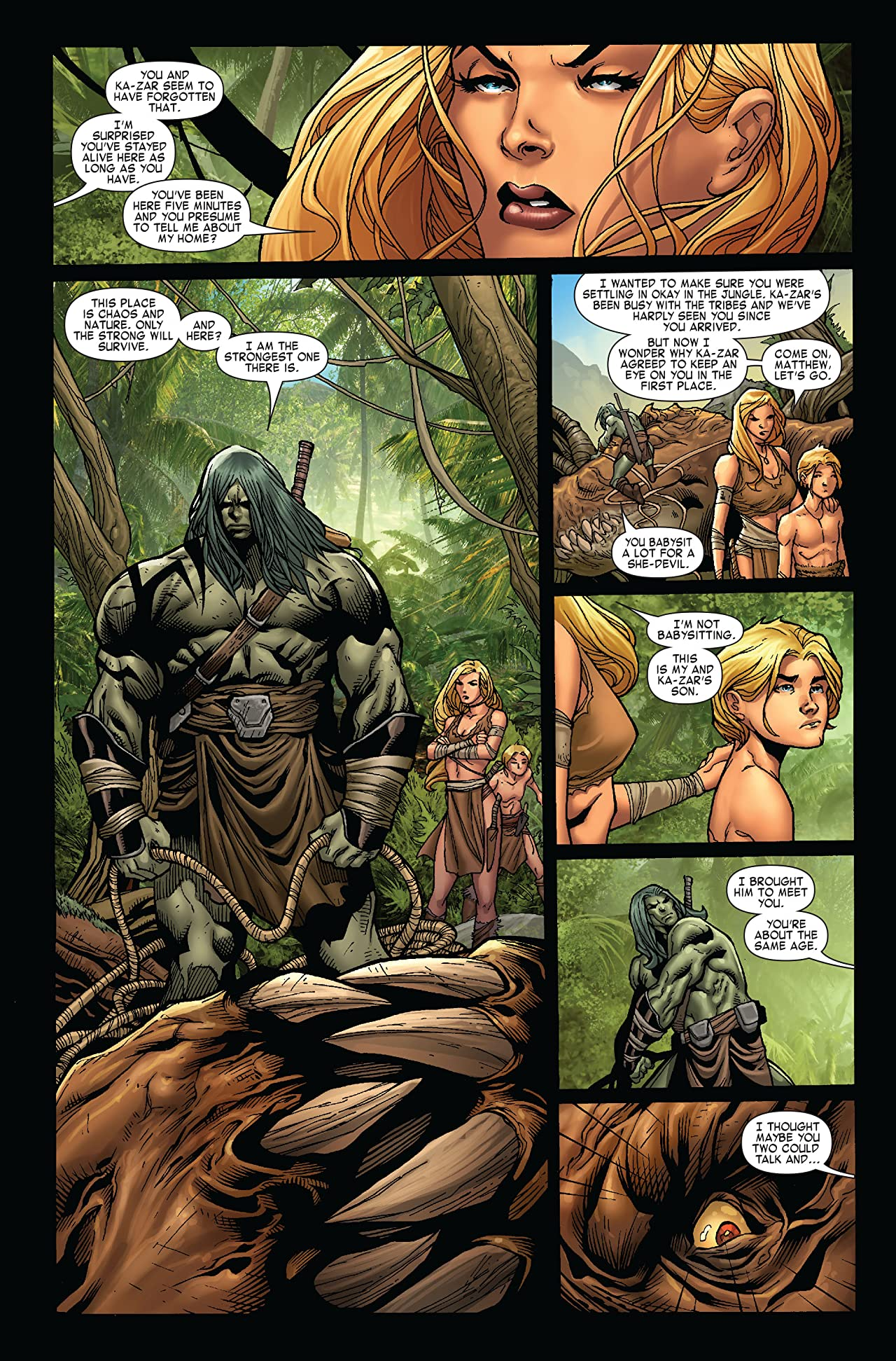 Skaar: King of the Savage Land #1 (of 5)