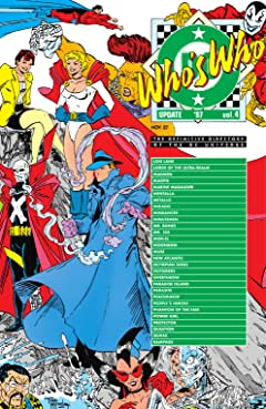 Who's Who Update 1987 (1987) #4
