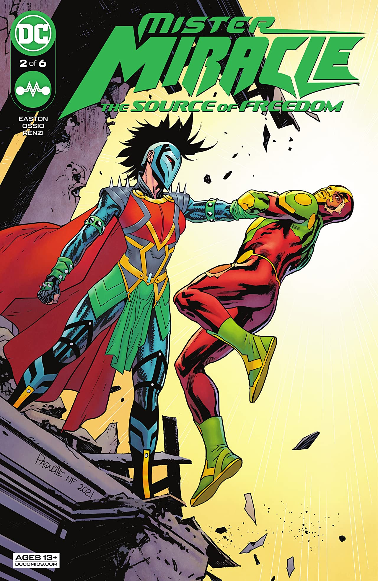 Mister Miracle (2021) #2: The Source of Freedom