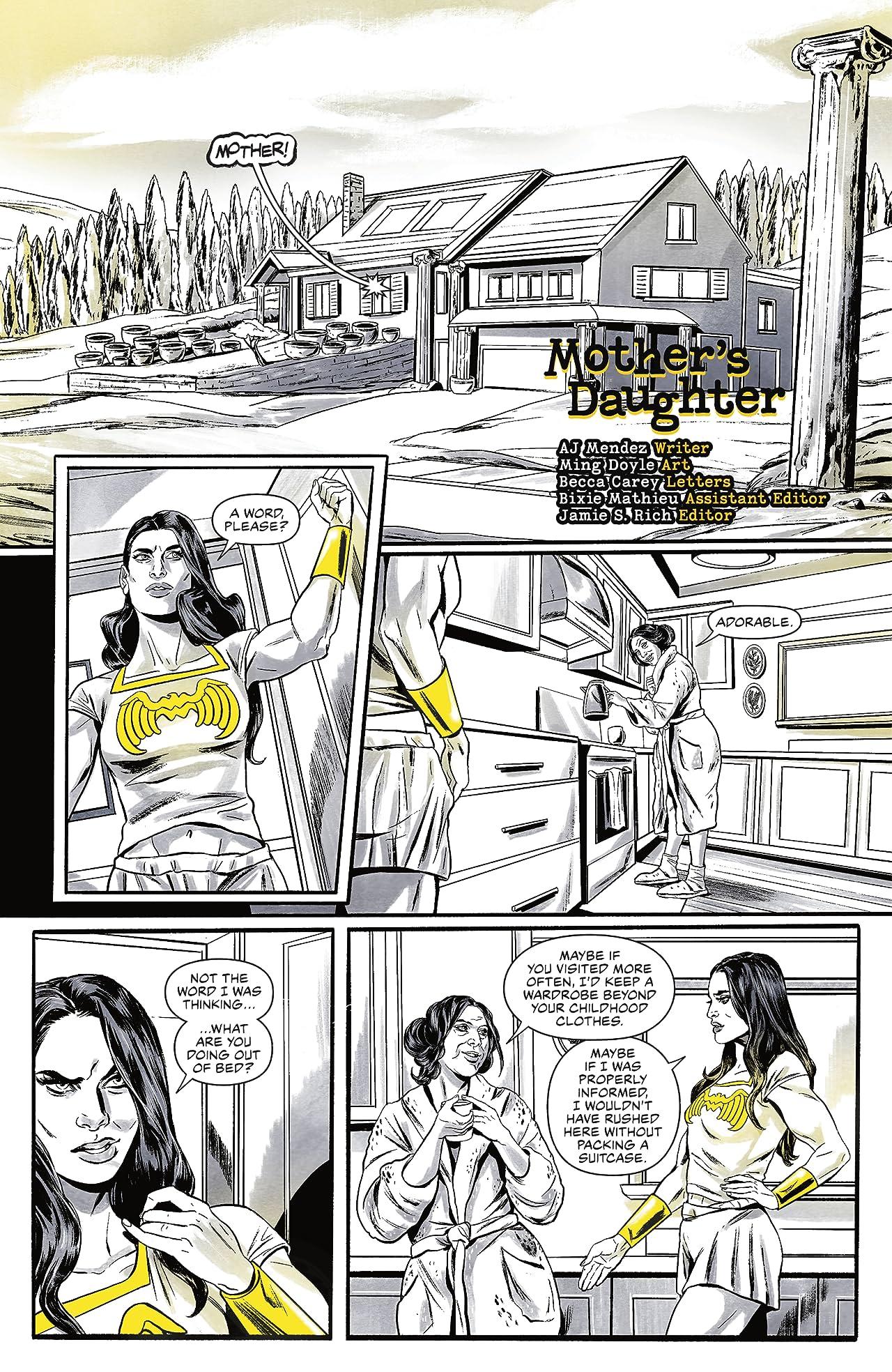 Wonder Woman Black & Gold (2021-) #1