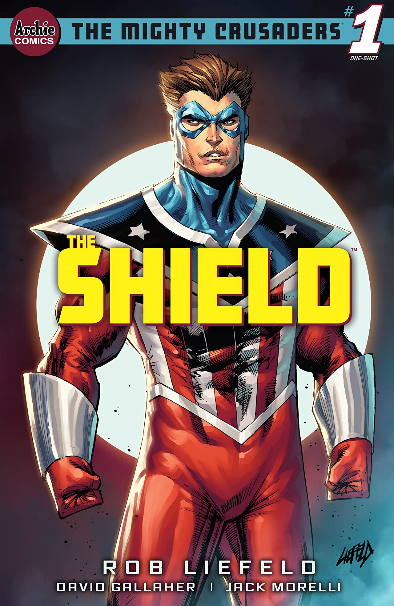 Mighty Crusaders: The Shield #1