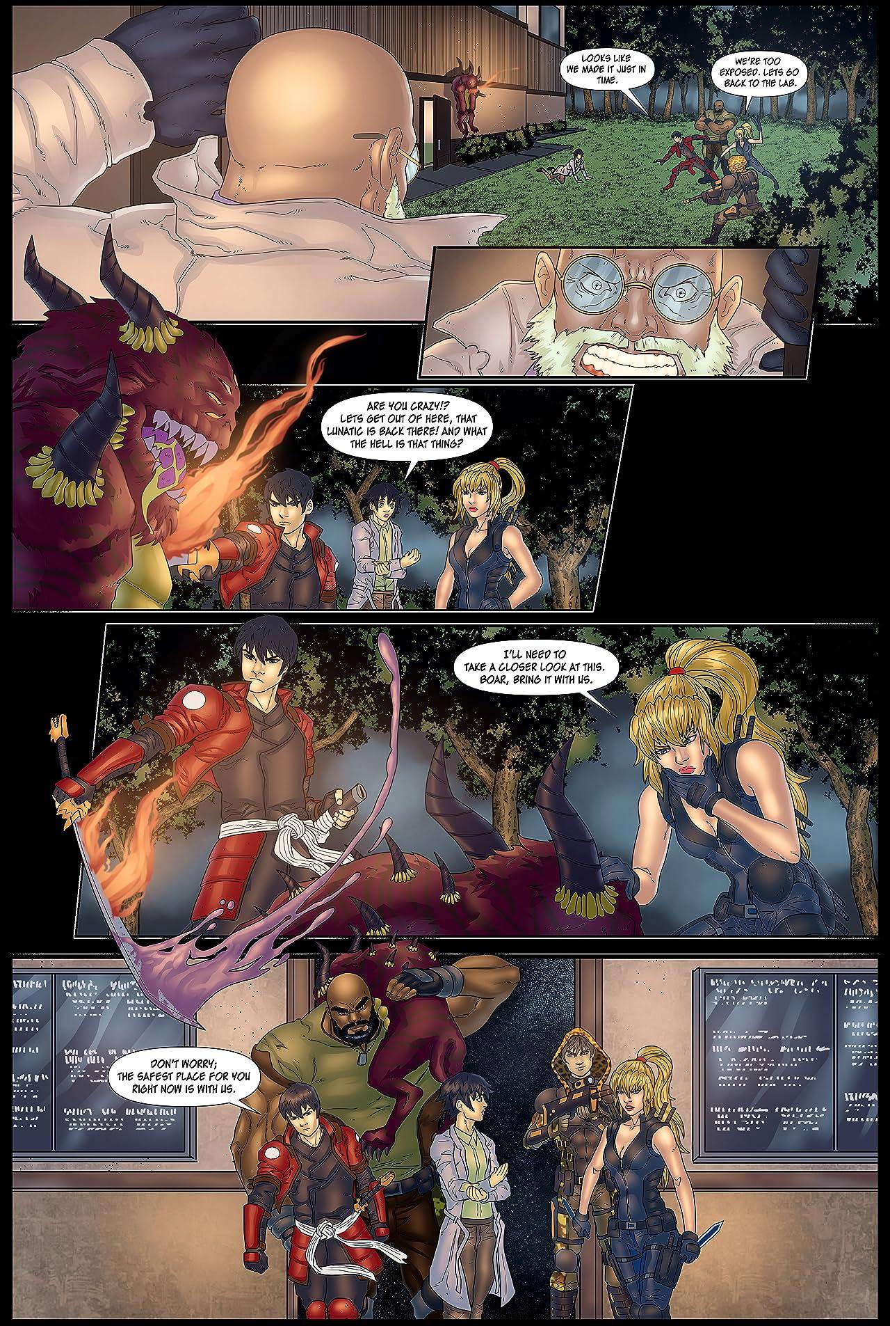The Savage Beasts #2