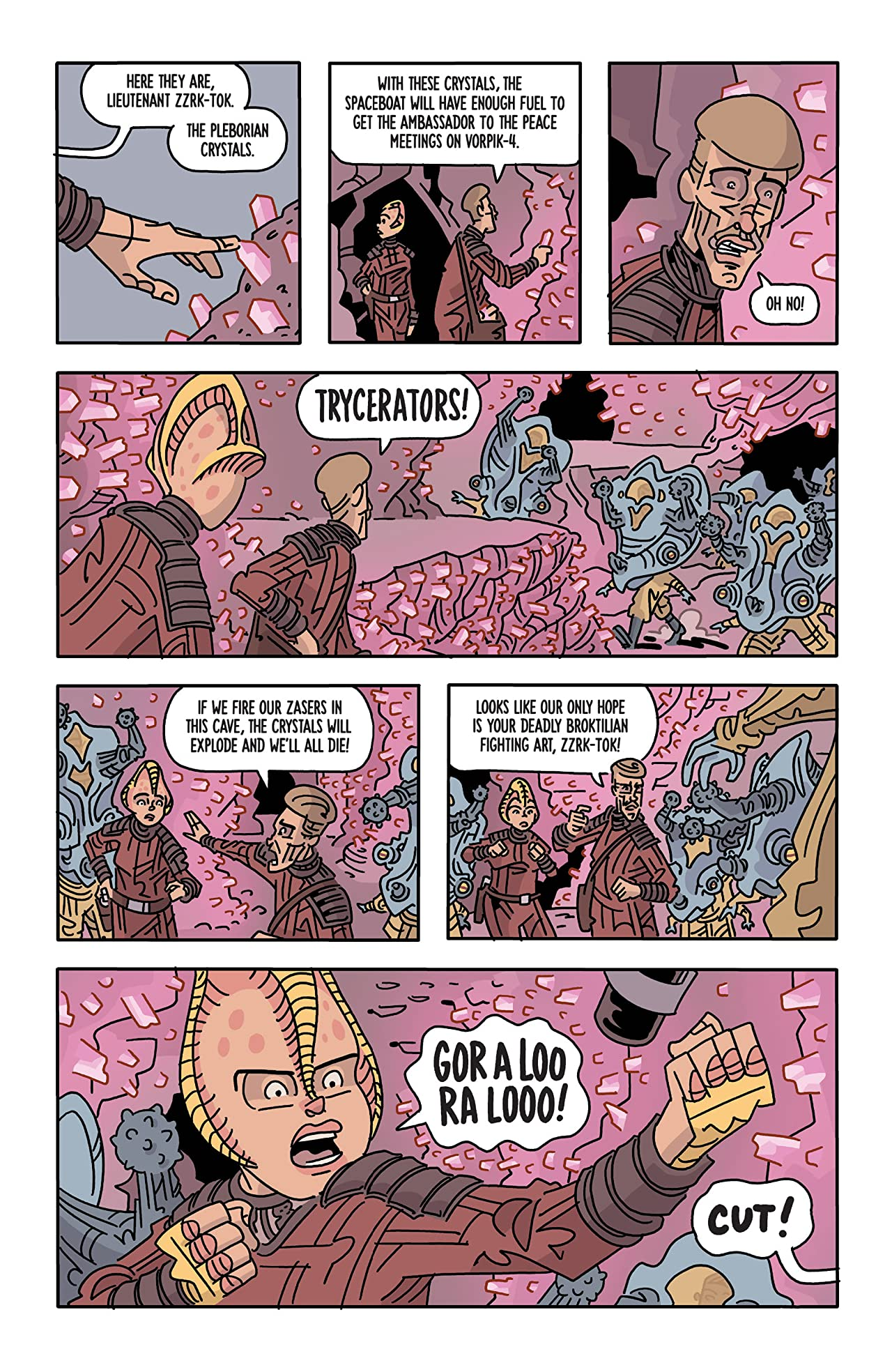The Six Sidekicks of Trigger Keaton #3