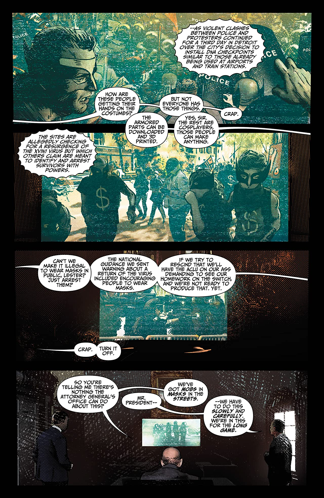 The Resistance: Uprising #3