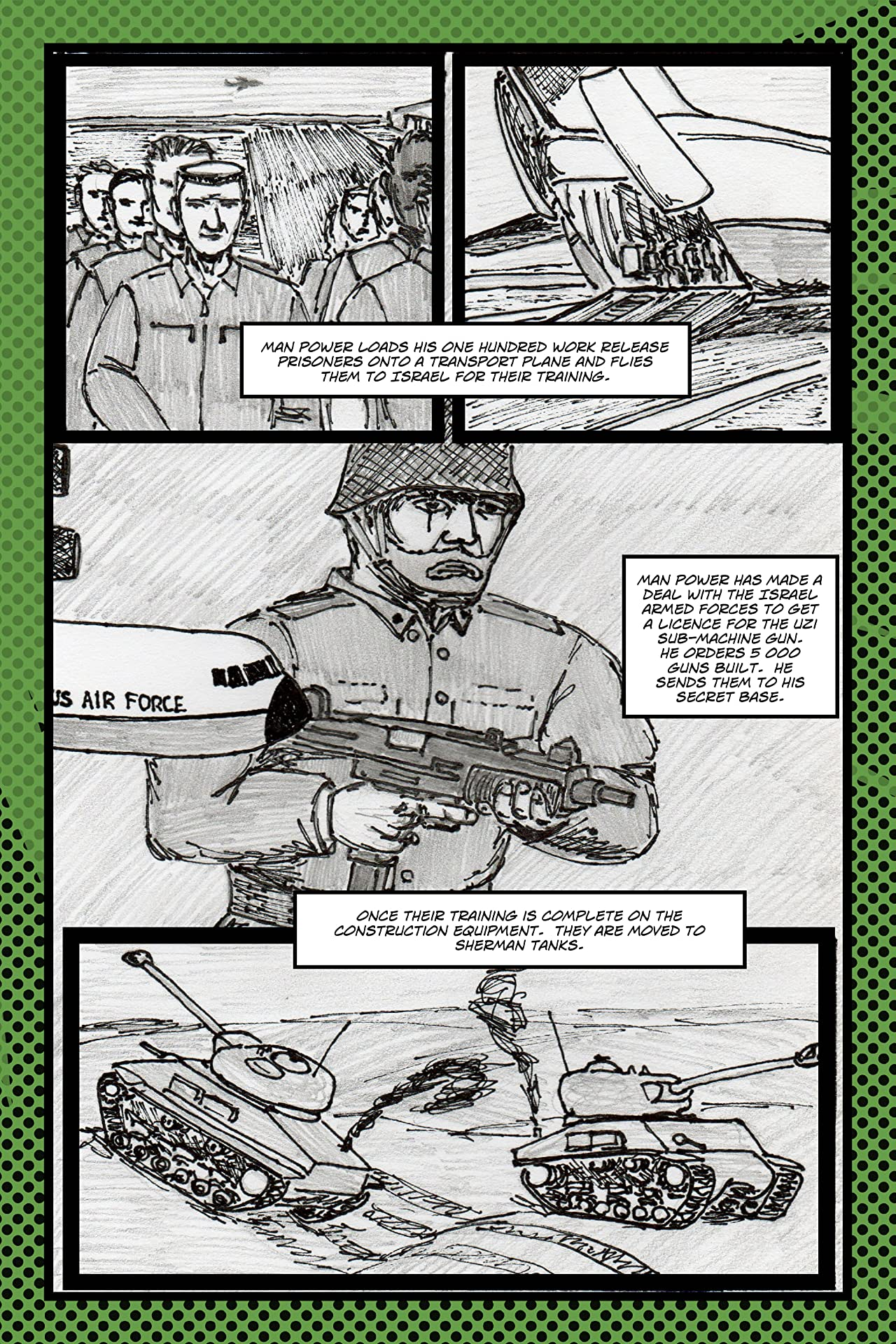 A World of Heroes 6 #4