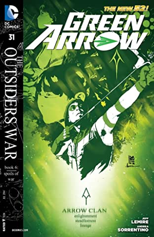 Green Arrow (2011-2016) #31