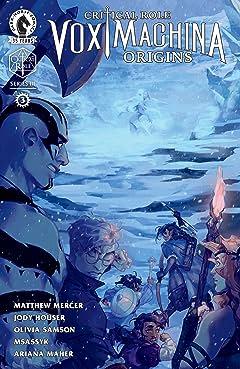 Critical Role: Vox Machina Origins III No.3