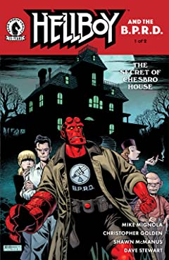 Hellboy and the B.P.R.D.: The Secret of Chesbro House #1