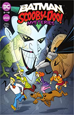 The Batman & Scooby-Doo Mysteries (2021-) #2
