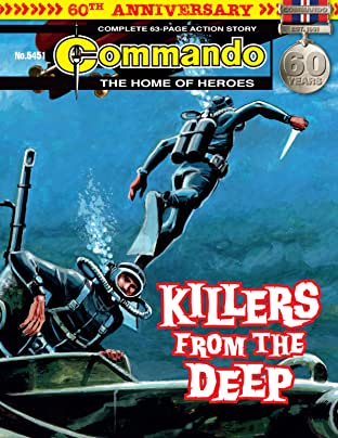 Commando #5451: Killers From The Deep