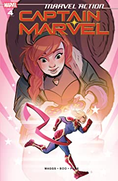 Marvel Action Captain Marvel (2021-) #4