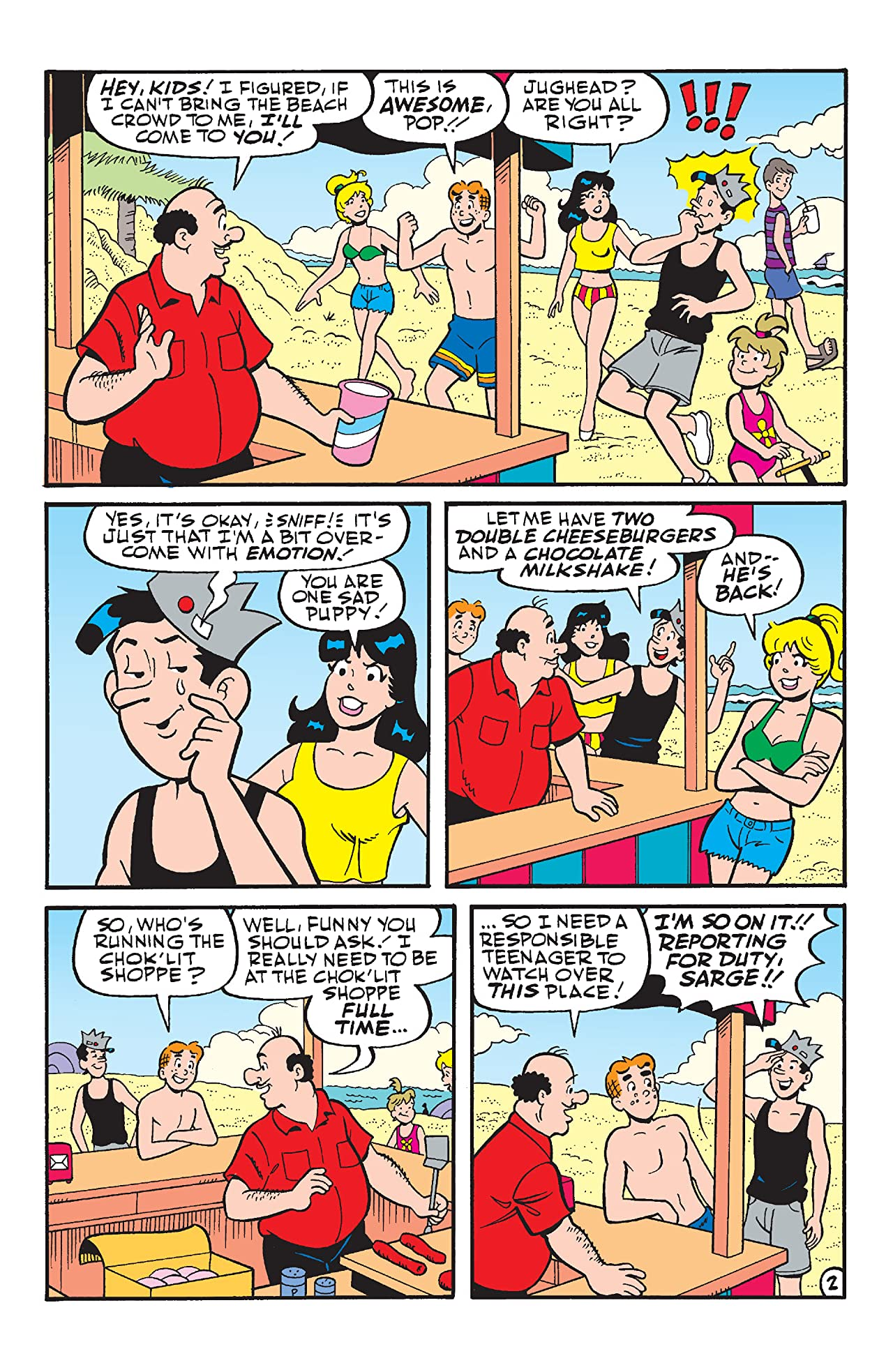 Archie & Friends: Summer Vacation #1