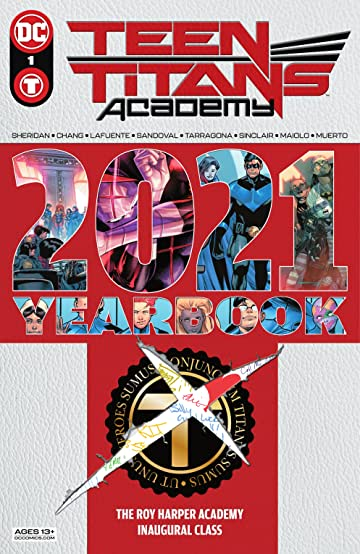 Teen Titans Academy 2021 Yearbook (2021) #1