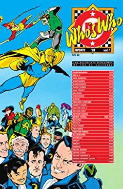 Who's Who Update 1988 (1988) #1