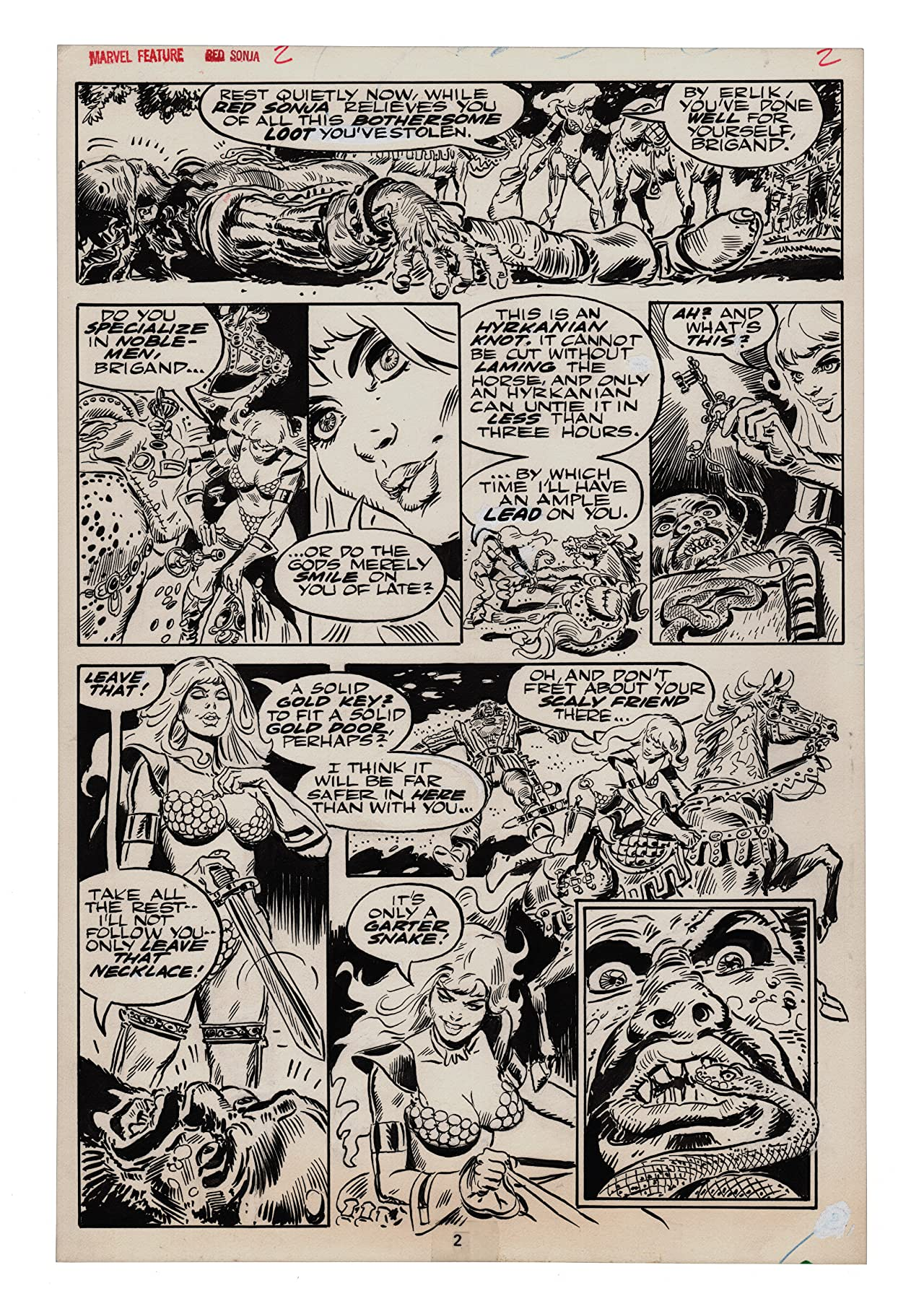Frank Thorne's Red Sonja: Art Edition