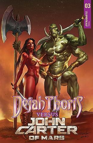 Dejah Thoris vs. John Carter of Mars #3