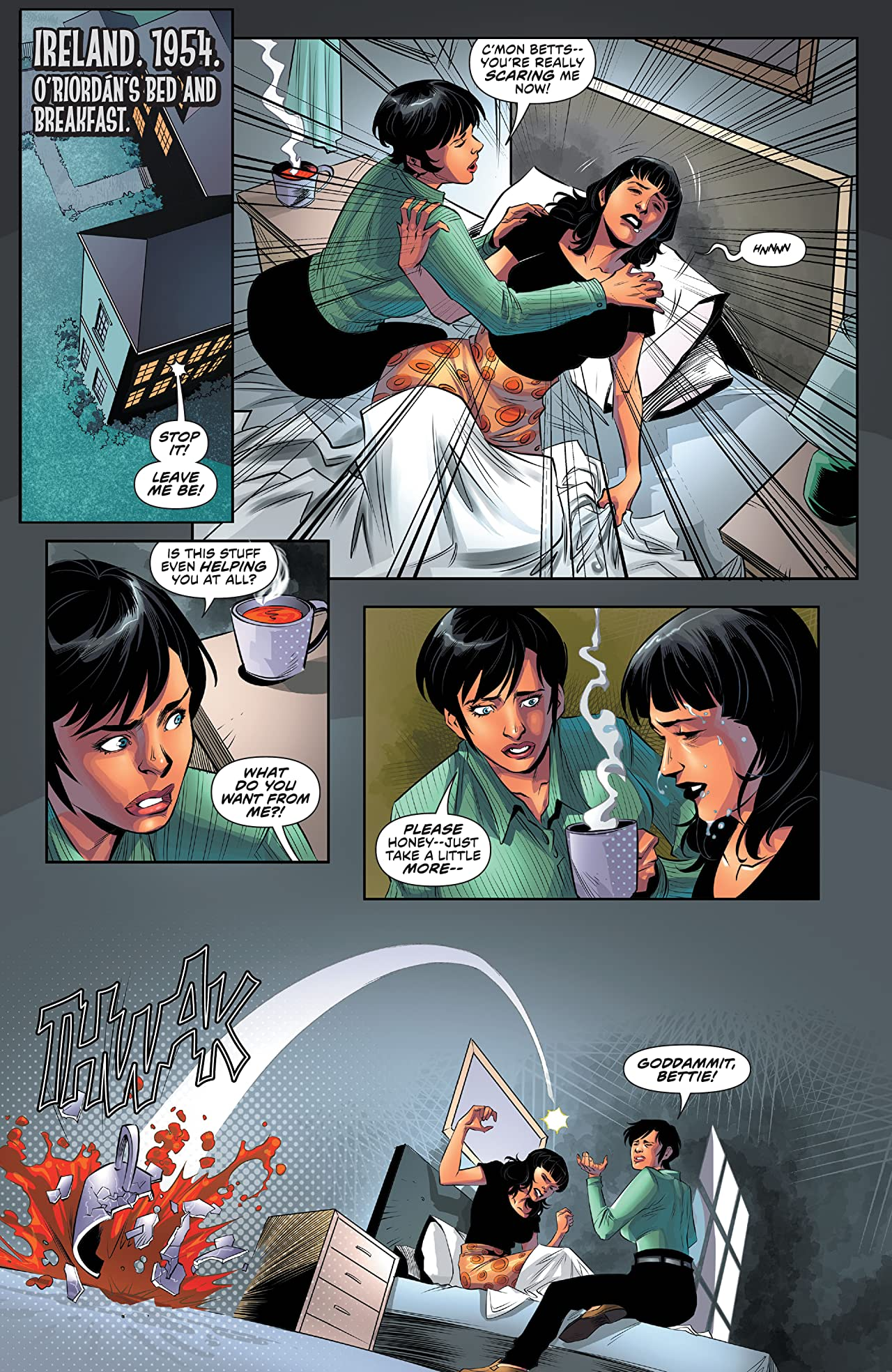 Bettie Page & The Curse of the Banshee #4