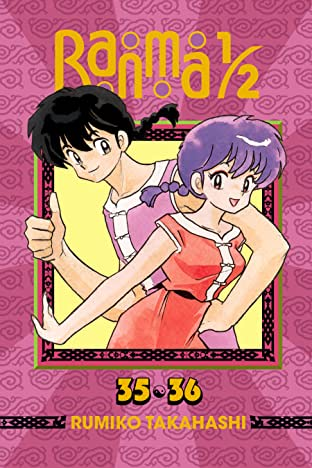 Ranma 1/2 (2-in-1 Edition) Vol. 18: Ranma, Ranma, on the Wall