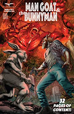 Man Goat & The Bunny Man #3