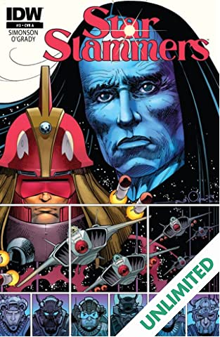 Star Slammers: Re-mastered! #3