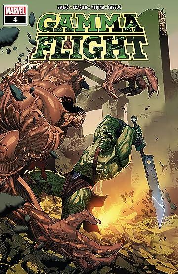 Gamma Flight (2021) #4 (of 5)