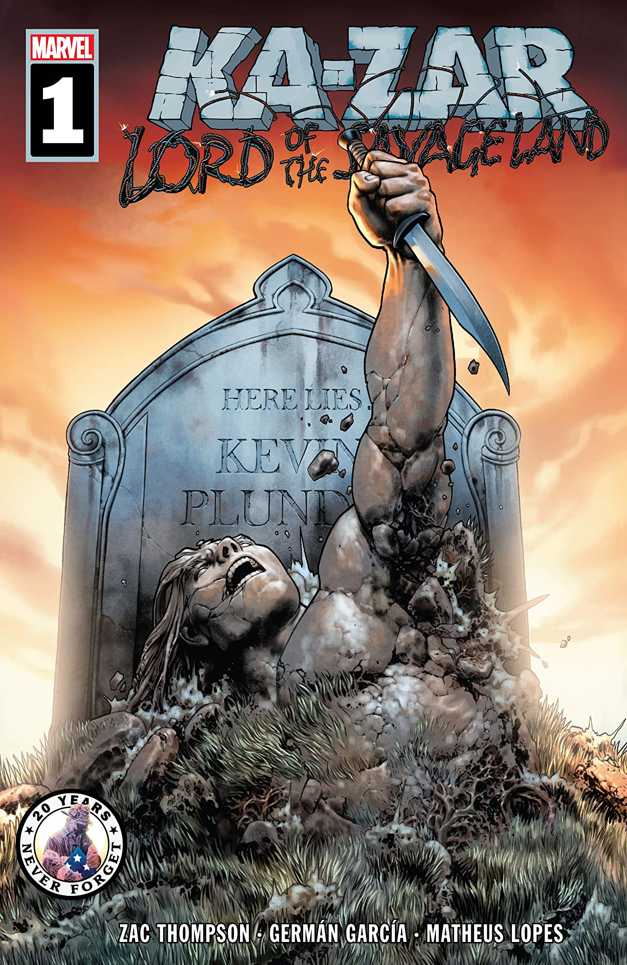 Ka-Zar Lord of the Savage Land (2021) No.1 (sur 5)