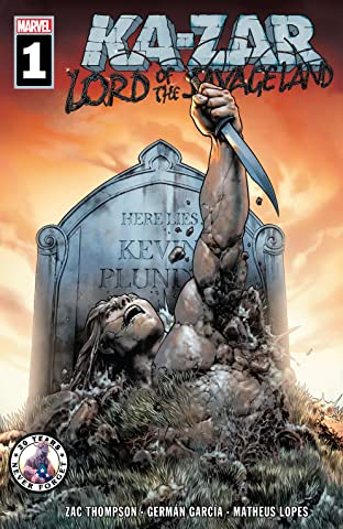 Ka-Zar Lord of the Savage Land (2021) #1 (of 5)