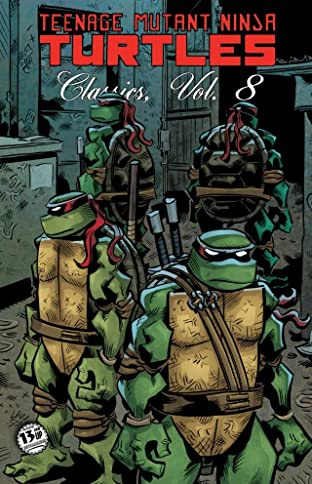 Teenage Mutant Ninja Turtles: Classics Tome 8