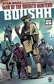 Star Wars: War of the Bounty Hunters - Boushh (2021) #1