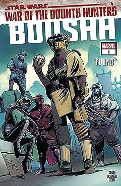Star Wars: War of the Bounty Hunters - Boushh #1 (of 1)