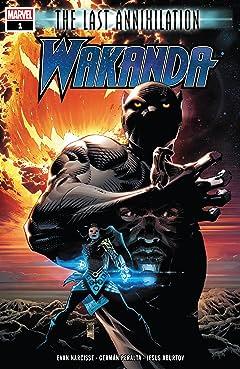The Last Annihilation: Wakanda (2021) No.1