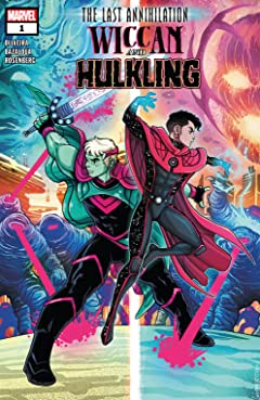 The Last Annihilation: Wiccan & Hulkling (2021) No.1